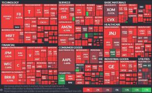 株価暴落、仮想通貨に避難か!?