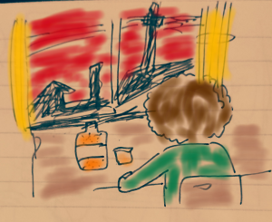 【4コマ漫画】ZAIF  is over  ~欧陽菲菲「ラヴ・イズ・オーヴァー」にのせて~