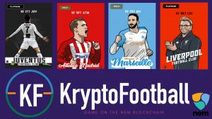 Kryptofootball - NEM collecting game