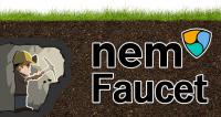 nemlogで遊ぶ種銭を無料で作る!NEM Faucet