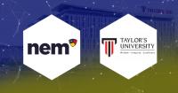 マレーシアのテイラーズ大学でNEMがブロックチェーン教育を実施