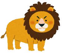 やる気のないライオンが発見される