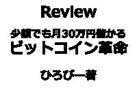 【トレードは週1回!少額でも月30万円儲かるビットコイン革命】Review