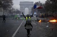 フランスのイエローベスト暴動