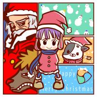 【プレモザ】NEMクリスマスグリーティングモザイク作りました