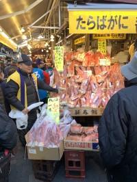 上野アメ横 新巻鮭を買いに