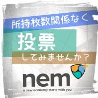 【全NEMberへ】投票を体験せよ!!!
