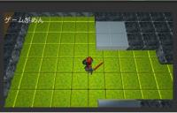 【ゲーム開発日誌】04.1:キャラ3Dモデルテスト、背景ブロック調に