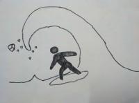 [イベント参加]美術2の人間が頑張る『画力向上お絵描きマラソン(GKM)』4週目!
