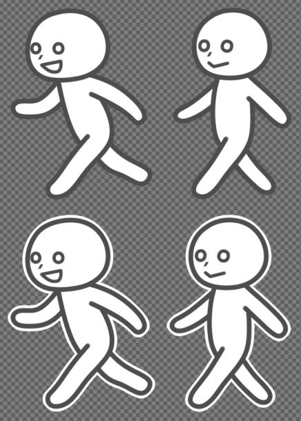 歩き&走り