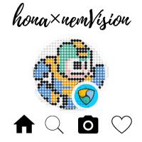 [hona×nemVision]ねっむ@のびるラッコさんのイラスト、プリントしてきた
