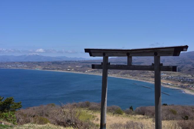 夷王山山頂からの景色