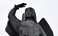 美しすぎる銅像・板額御前(新潟県胎内市)銅像日誌No.3