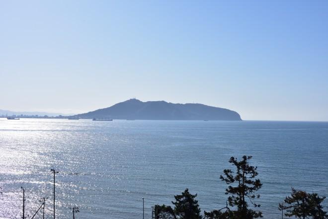 矢不来台場から見た函館山