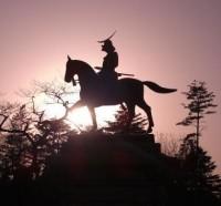 伊達政宗像と仲間たち(仙台)・銅像日誌No.6