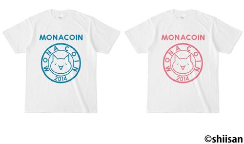 モナコインTシャツ03