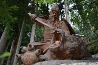 リアル過ぎる妖怪退治の銅像 銅像日誌No.11