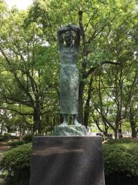 佐賀城内にある銅像(その1)