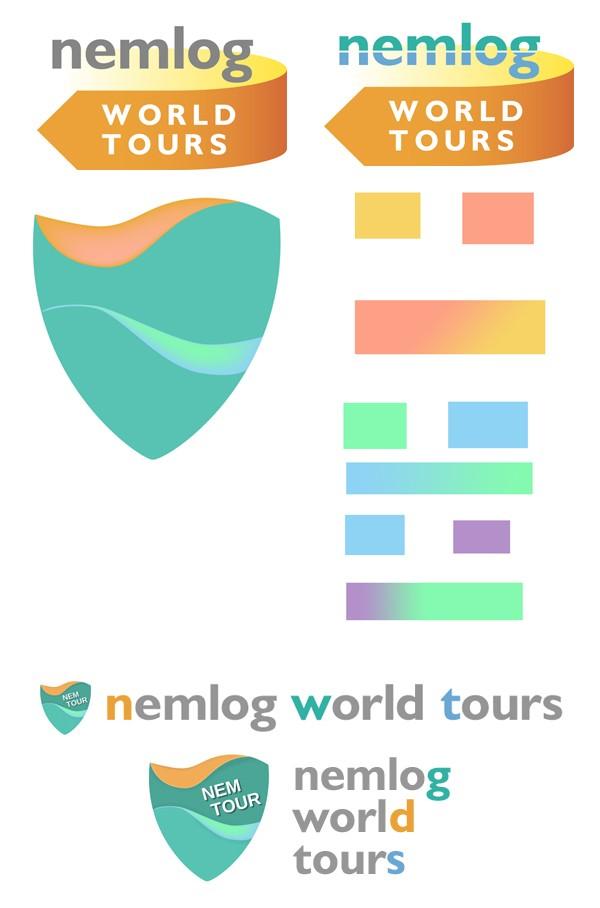 nemlog world tours イメージ エンブレム