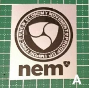 NEM ステッカー A【送料込】