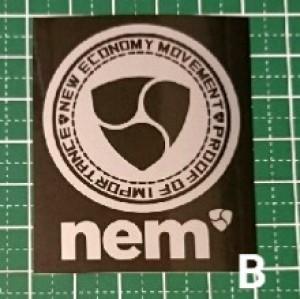 NEM ステッカー B【送料込】