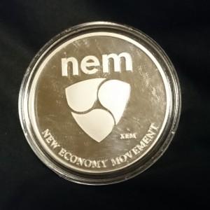 NEM 純銀コイン 1 troy ounce(輸入品)【送料込】