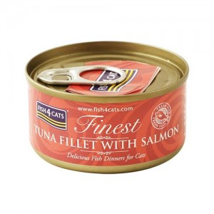 【FISH4CATS】フィッシュ4キャット缶詰「ツナ&サーモン」TUNA FILLET WITH SALMON