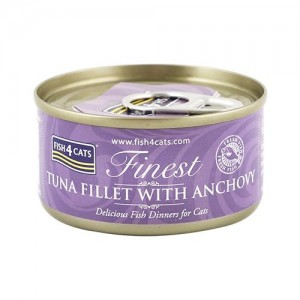 【FISH4CATS】フィッシュ4キャット缶詰「ツナ&アンチョビ」TUNA FILLET WITH ANCHOVY