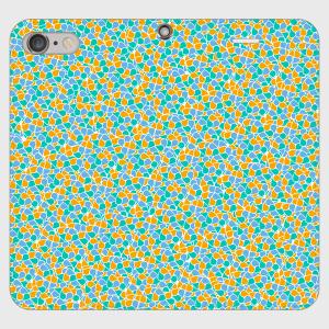 【iPhone・Android対応】SN(白NEM)デザイン 手帳型スマホケース