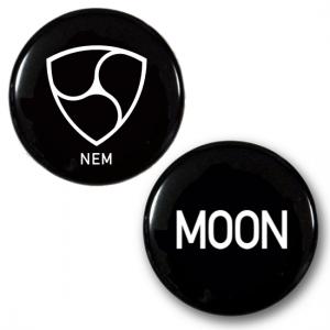 NEM & MOON BADGE