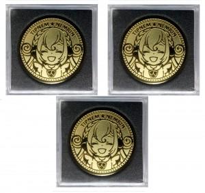 ねむりんちゃんメダル(プレミアム・3枚セット)