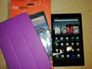 【中古】第7世代 Kindle fire hd10 32G