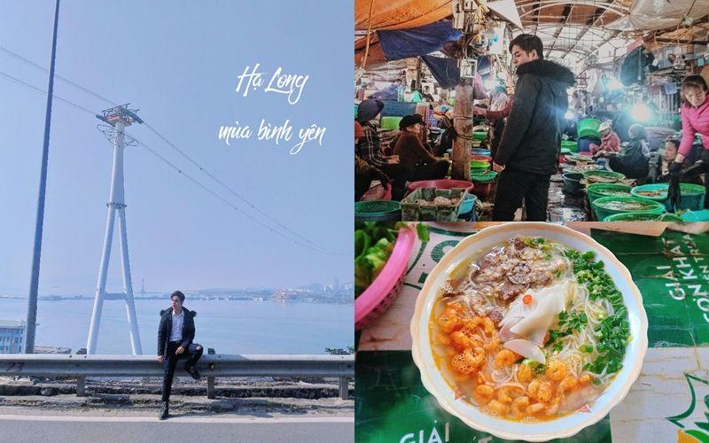 Review cách du lịch Hạ Long ở khách sạn 5 sao, ăn no nê món ngon chỉ với 2 triệu đồng