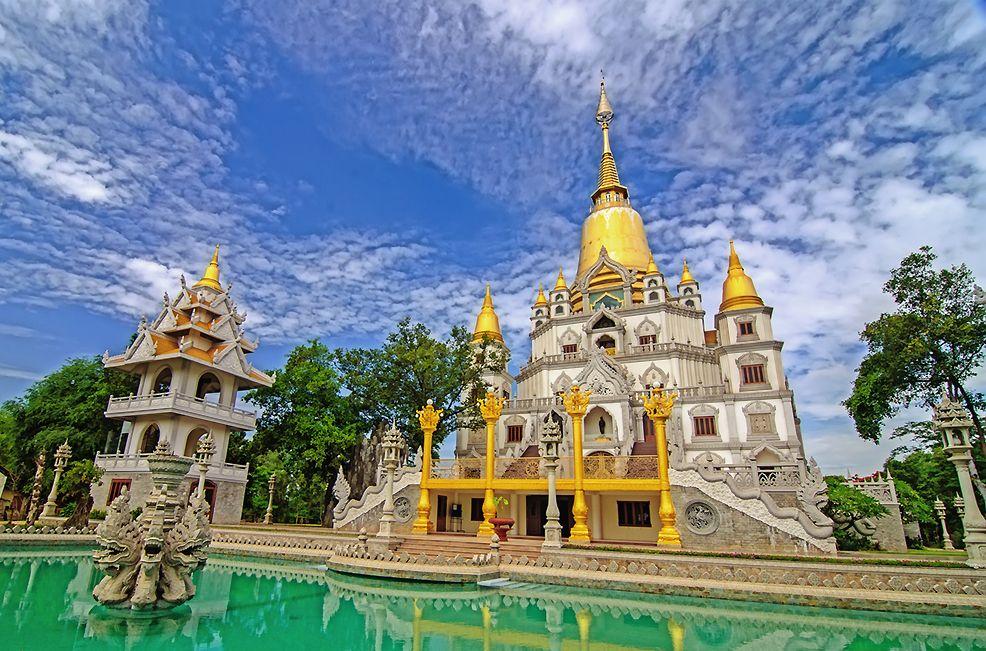 4 ngôi chùa nổi tiếng với kiến trúc độc lạ tại Sài Gòn