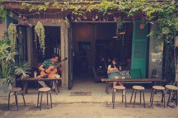 Cafe nhạc xưa - nét văn hóa thú vị của người Hà Nội