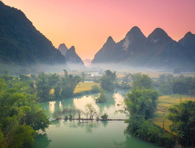 Những địa điểm giúp bạn chiêm ngưỡng trọn thiên nhiên hùng vĩ và thơ mộng của Cao Bằng