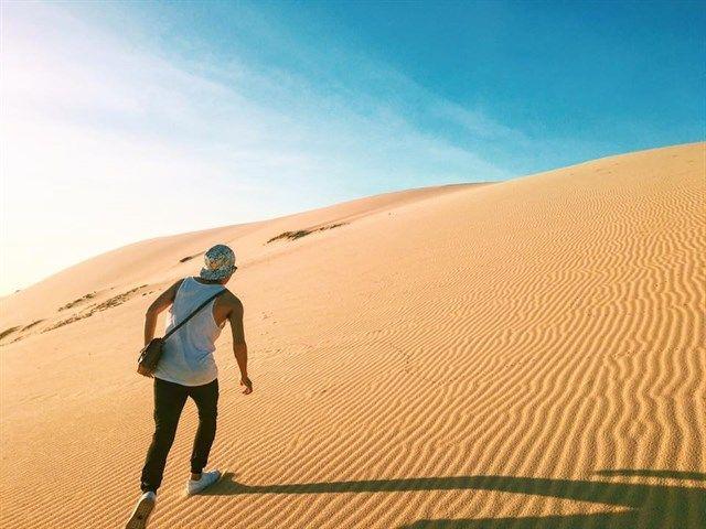Lạc vào cồn cát Quang Phú -