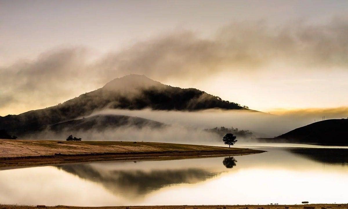 Một lần ghé thăm Hồ Suối Vàng bình yên, nên thơ và săn mây cực đẹp
