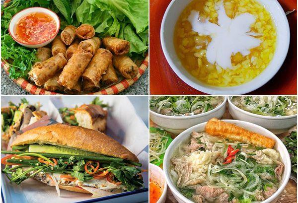 Top 10 món ăn nổi tiếng của Việt Nam được du khách rất yêu thích