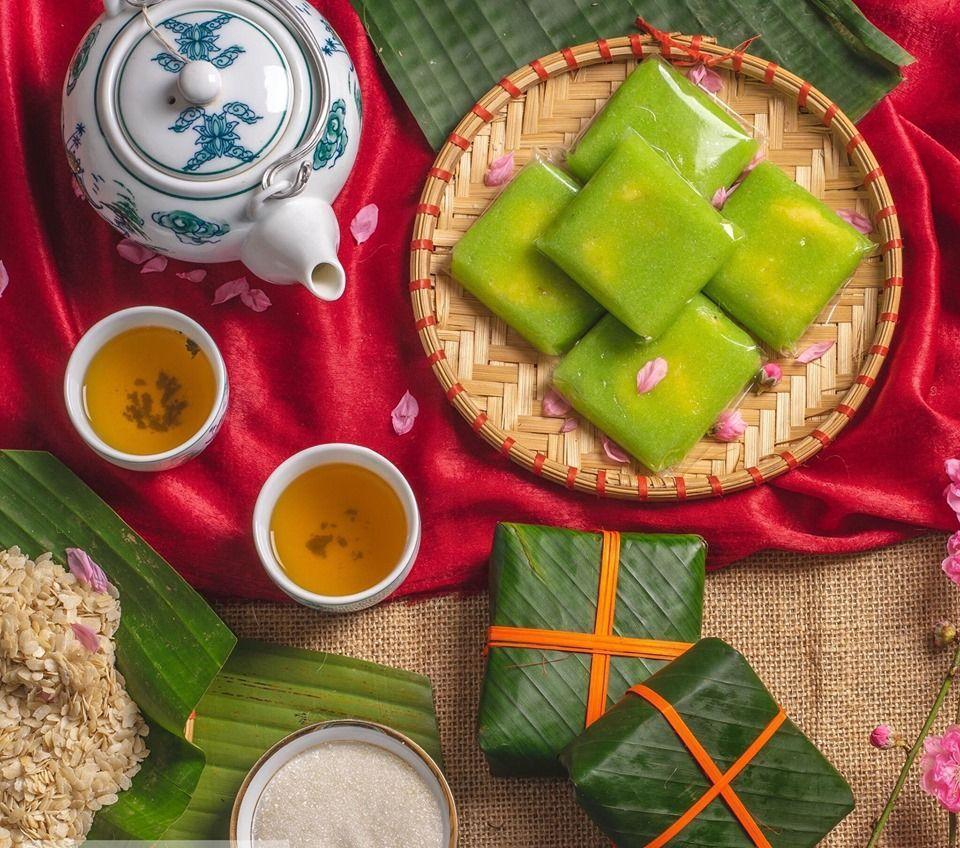 Bánh cốm Hà Nội - món bánh trăm tuổi có hương vị ngọt thơm đậm đà