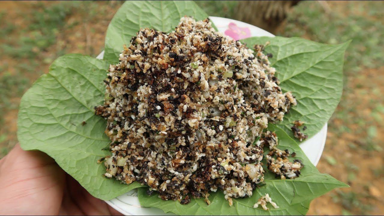 Độc lạ món xôi trứng kiến của người Tày ở Bắc Giang