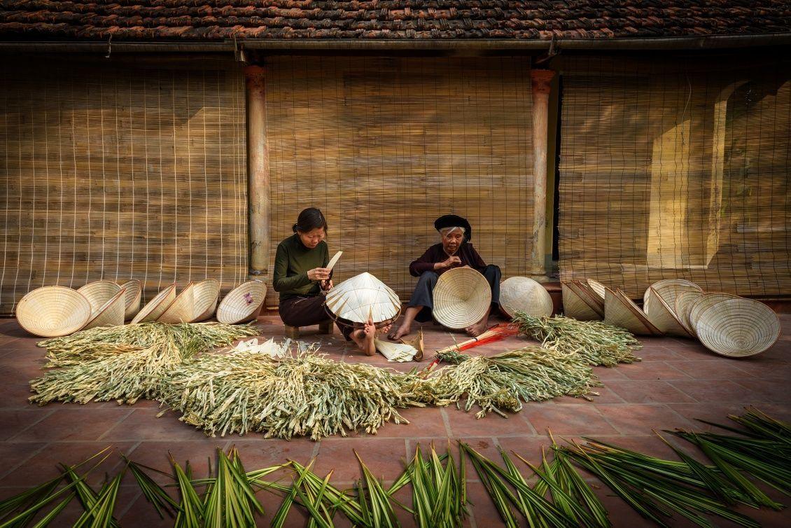 Nghề nón lá làng Chuông: Dấu ấn lịch sử về văn hóa Việt Nam