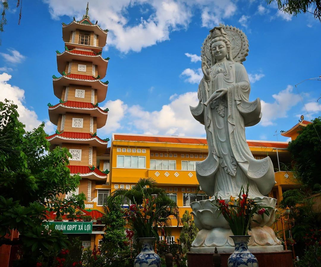 Ngôi chùa có tháp chuông cao nhất Sài Gòn cùng lịch sử ly kỳ