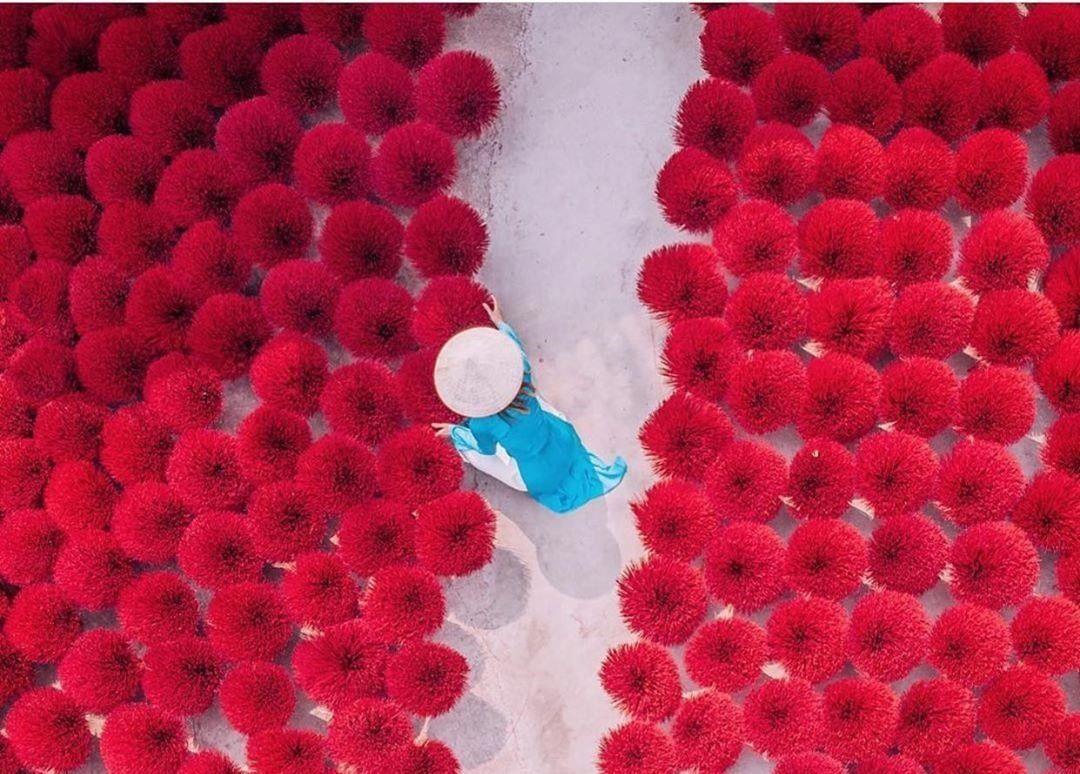 Làng nghề làm hương Quảng Phú Cầu hơn 100 năm tuổi giữa lòng Hà Nội