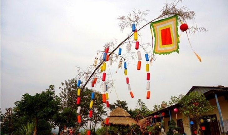 Vì sao có phong tục dựng cây nêu trong dịp Tết Nguyên Đán ở Việt Nam?