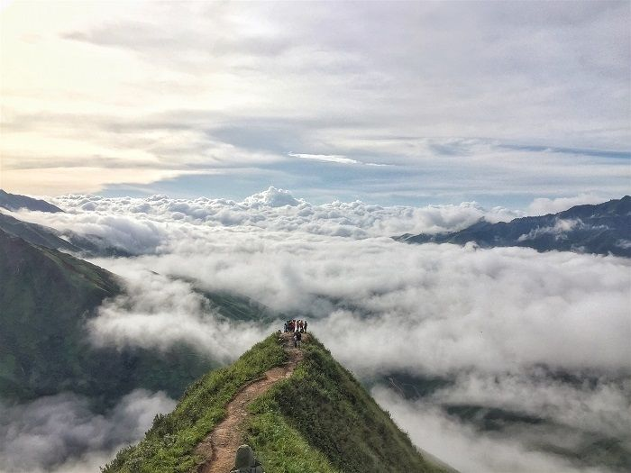5 extremely beautiful cloud-hunting places for visitors in Vietnam