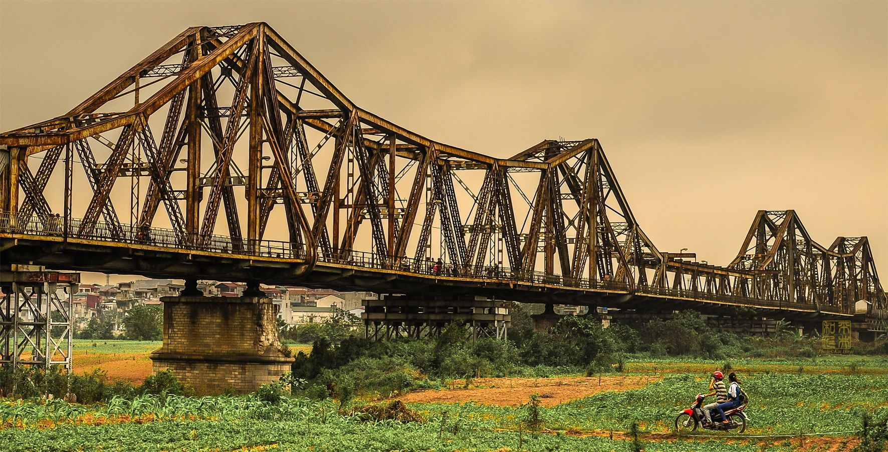 Cầu Long Biên - di sản kiến trúc của Hà Nội