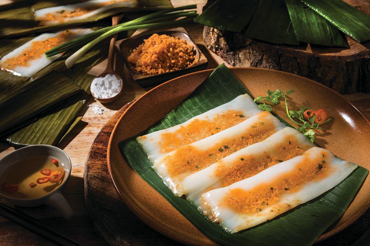 Thưởng thức hương vị làng quê dân dã qua những chiếc bánh nậm Huế