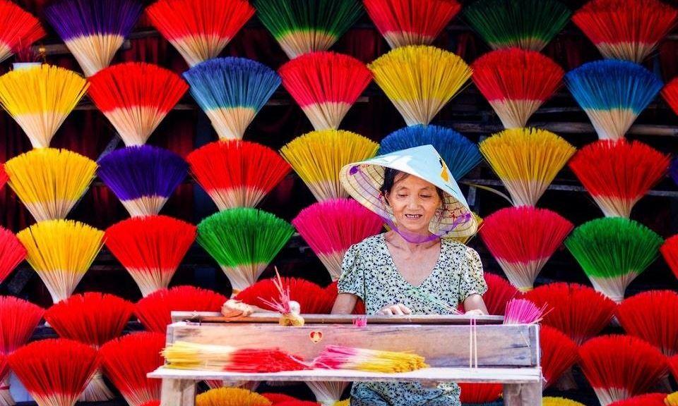 Làng nghề hương Thủy Xuân lưu giữ hồn Việt ở cố đô