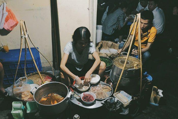 Phở gánh - nét độc đáo của ẩm thực Hà Nội